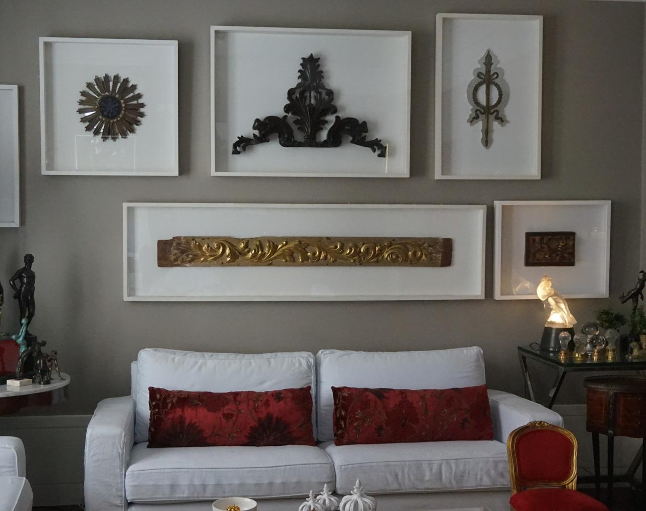 Telas para decorar paredes simple y por ultimo otro ejemplo de como decorar las paredes with - Telas para decorar paredes ...